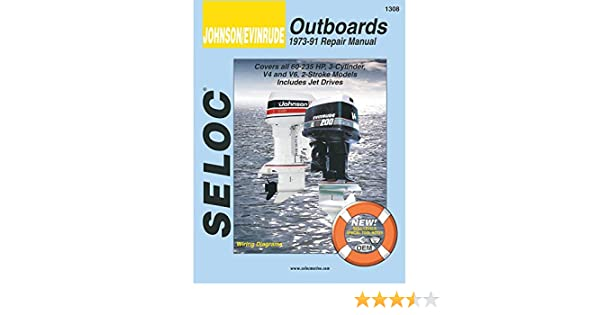 amazon com seloc service manual johnson evinrude 3 4 6 cyl rh amazon com Seloc vs Clymer Manuals seloc repair manual reviews