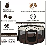 Hepeeng Portable Foldable Pet Playpen and