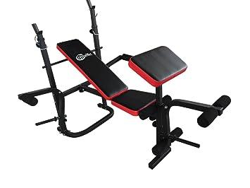 CrystalTec ajustable todo en uno mancuernas pesas peso banco plegable con mariposa/púlpito/plano/inclinación: Amazon.es: Deportes y aire libre