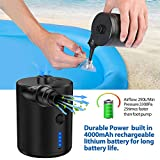 Tomight Electric Air Pump, Rechargeable Portable