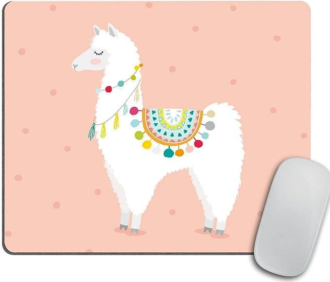 Cute Hand Drawn Llama Mouse Pad Mousepad
