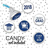Class of 2018 Graduation Party Favor Stickers, Set of 324 (Blue)