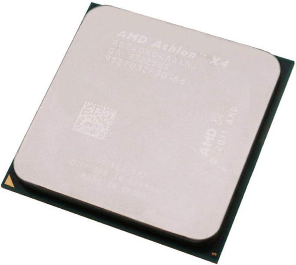 AMD Athlon II X4 740 Socket FM2 65W 3.2GHz 904-pin Quad-Core CPU Desktop Processor X4 740 Socket Fm2