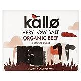 Kallo Organic Very Low Salt Beef Stock Cubes - 6 x 8g