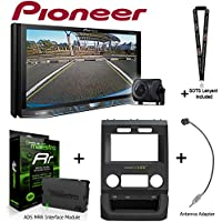Pioneer AVH-4201NEX 7 DVD Receiver w/Backup Camera iDatalink KIT-FTR1 Factory System Adapter for select Ford pickups, ADS-MRR Interface Module and BAA22 Antenna Adapter and a SOTS Lanyard