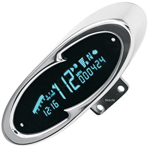 ダコタデジタル Dakota Digital スピード/タコメーター MCV-7100 青LED/クローム オーバル 211051 MCV-7100   B01MXELH8F