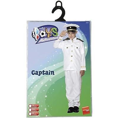 Smiffys Captain Costume, Child: Clothing