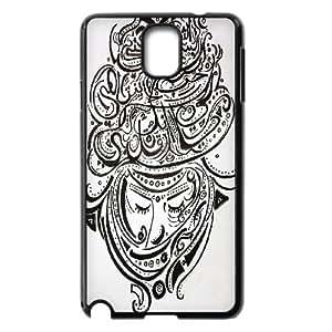 Doah Art Print Samsung Galaxy Note 3 Case Fashion Arab Love, Samsung Galaxy Note3 Cases for Women [Black]
