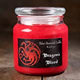 Game of Thrones Soy Candle - House Targaryen Dragon's Blood - 16 oz. Apothecary Jar