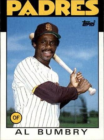 Amazoncom 1986 Topps Baseball Card 583 Al Bumbry Mint