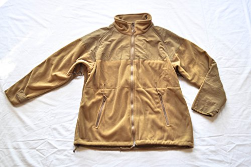 Genuine USMC Coyote Tan ECWCS Fleece Liner Jacket - Size Extra-Large