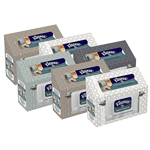 Price comparison product image Kleenex Hand Towels, 60 ct,(Pack of 6)