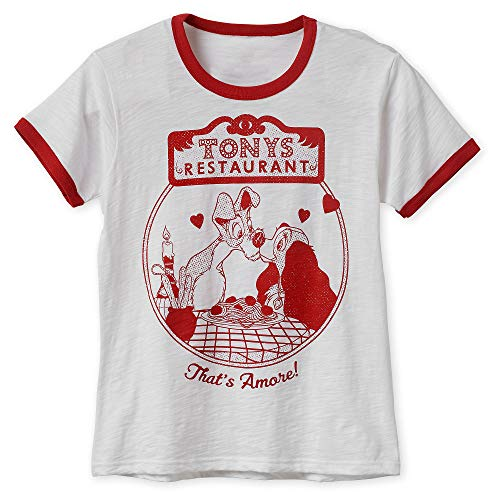 Disney Lady and The Tramp Ringer T-Shirt for Women