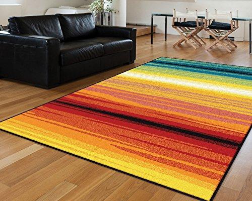 Universal Rugs Contemporary Stripe Multi product image