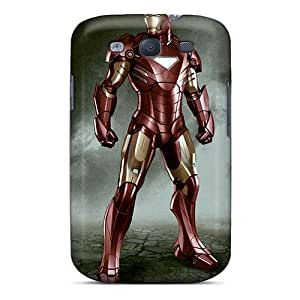 Galaxy S3 Case Cover Skin : Premium High Quality Iron Man I4 Case