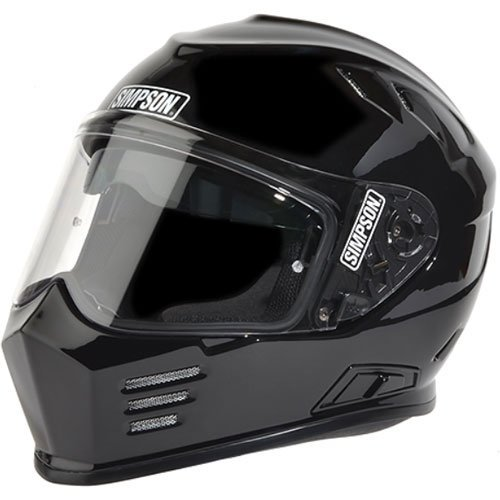 Simpson GBDL2 Black Dot Large Helmet Ghost Bandit ()