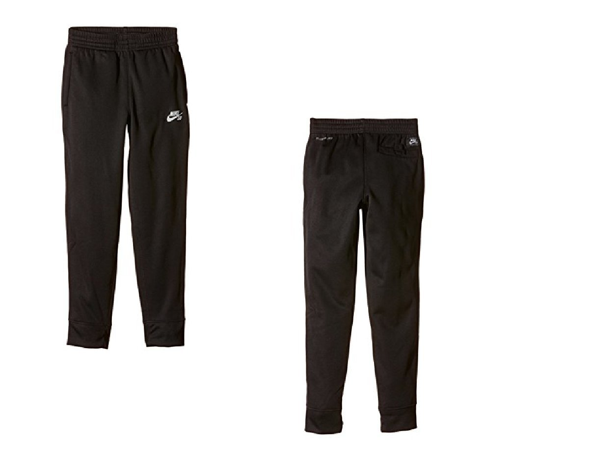 5a206ed2a3 Amazon.com  Nike Kids Baby Boy s Therma Fleece Core Pant (Toddler) Black 2T  Toddler  Sports   Outdoors
