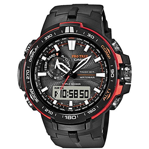 Watch Casio Pro Trek Prw-6000y-1er Men´s Black