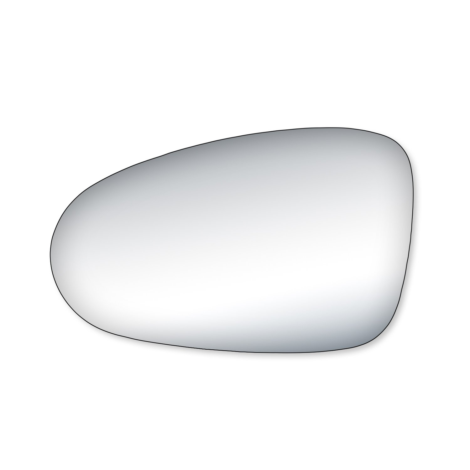 Fit System 99170 Nissan Altima Driver//Passenger Side Replacement Mirror Glass