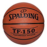 "Spalding 022360 TF-150 Men's Basketball, Rubber, 29-1/2"" Size"