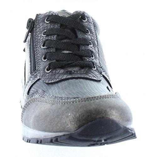 Chaussures de sport pour Femme et Fille XTI 53916 METALIZADO C PLOMO
