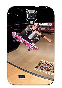 Fashion Hard For Case Galaxy S4 Cover- Skateboard Skateboarding Skatefq Defender Case Cover For Lovers