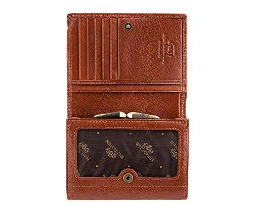 cm de Collection 5 9 Wittchen 1 Italy Cuir Couleur Marron Portefeuille x Taille 070 21 Matériel 5 12 grain zzqCowYBxA