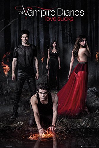 the vampire diaries wall posters