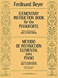 img - for Elementary Instruction Book for the Pianoforte book / textbook / text book