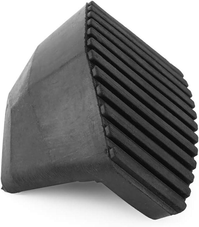 Copertura per pedale freno frizione in gomma nera antiscivolo per Peugeot 1007 207 208 301 307 Citroen C3 C4 C5 DS3 C6 C8