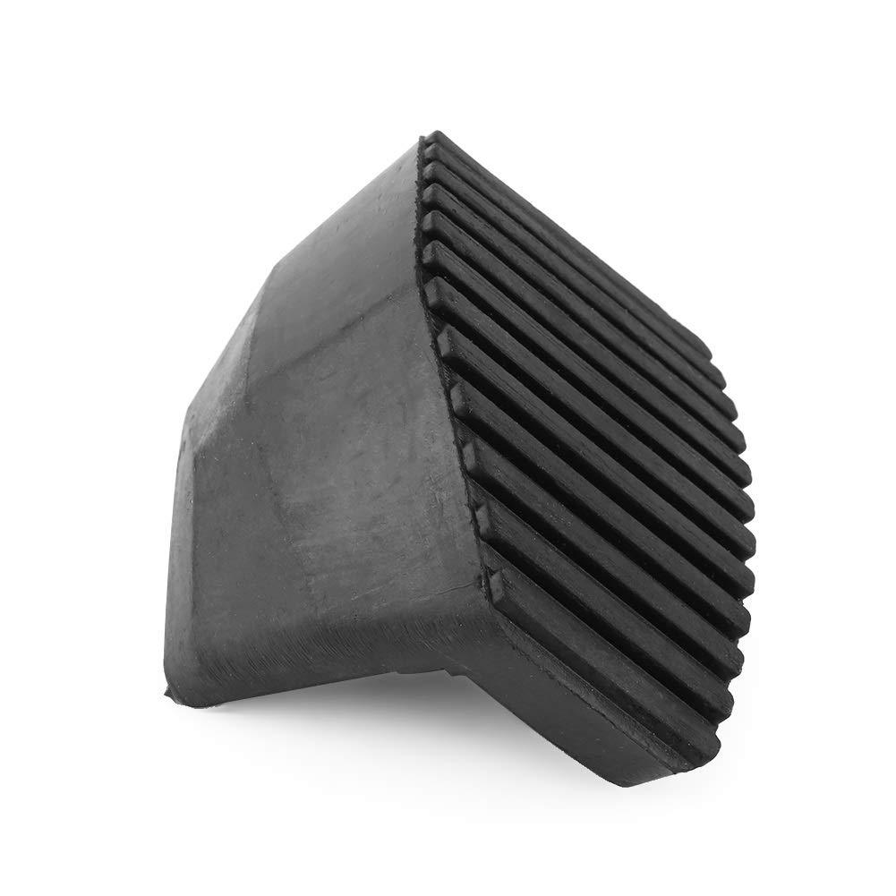 Dibiao 2pcs set automobile couvercle de protection en caoutchouc de p/édale de frein dembrayage pour voiture Peugeot//Citroen 1007 207 208 301 C3 C4 C5 C6 C8