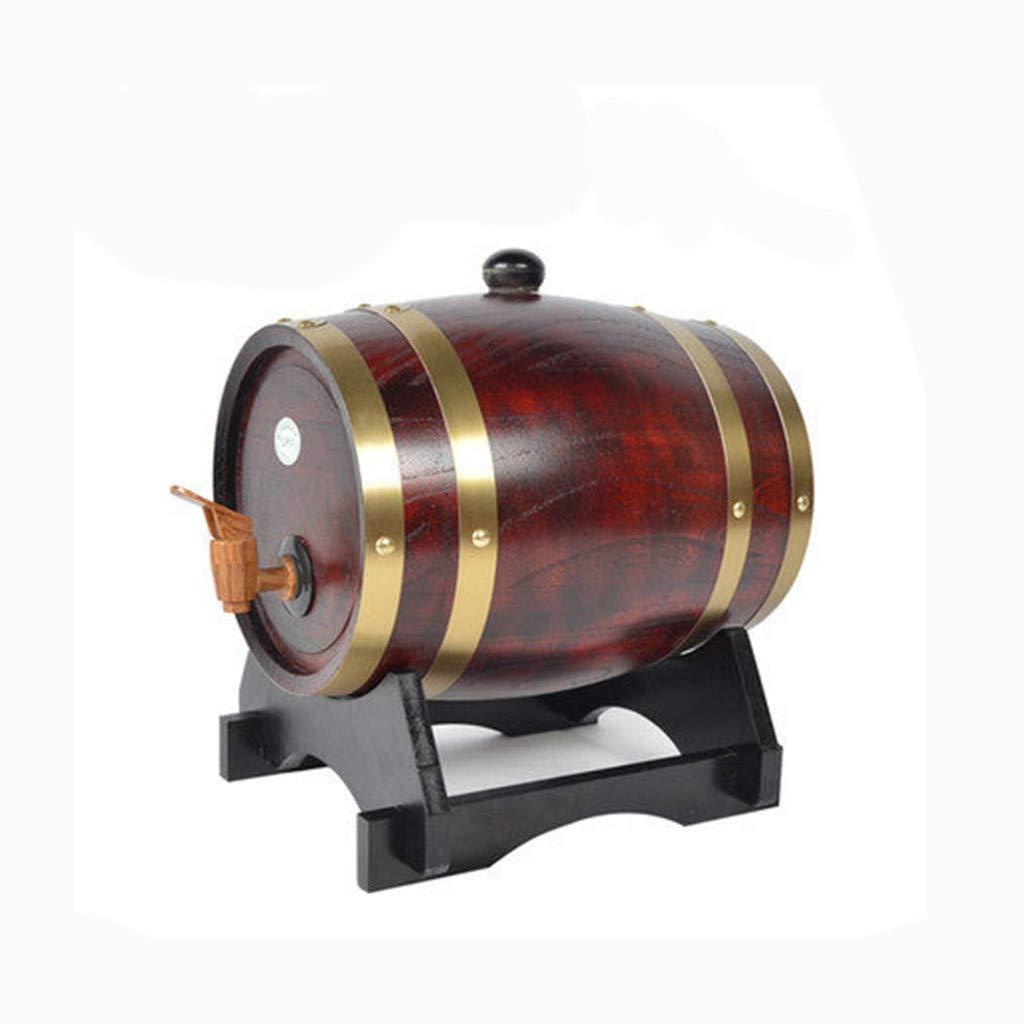 LIZHONG-SLT Wooden Barrel, Barrel, Wooden Barrel, Household Barrel, Bucket (3-20L),d,3l