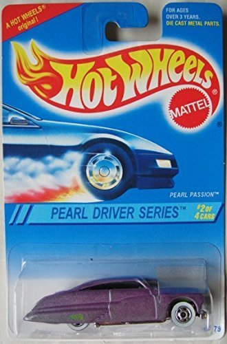 HOT WHEELS PEARL DRIVER SERIES 2/4 PEARL PASSION