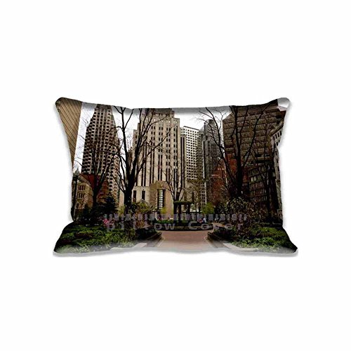 Boston Standard Sham - Boston Pillow Covers Protector Two Sides Standard Zippered Pillowcase Pillow Sham 20x30inche for kids New Year Gift