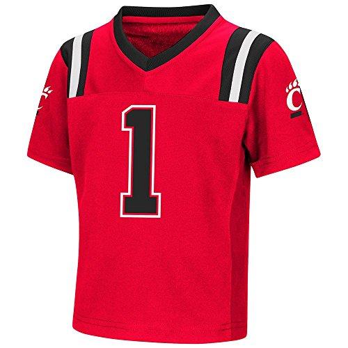 Colosseum Toddler Cincinnati Bearcats Football Jersey - 2T
