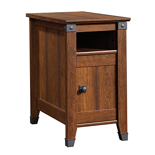 Sauder Carson Forge Side Table, Washington Cherry Finish by Sauder