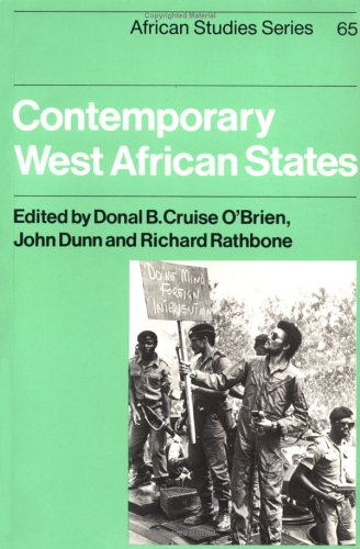 Contemporary West African States (African Studies)