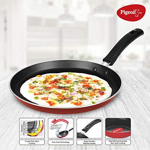 Pigeon-by-Stovekraft-Basics-Induction-Base-Non-Stick-Aluminium-Cookware-Set-Terracotta-Brown