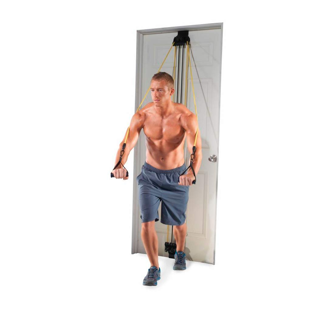 Golds Gym Home Gym Total Body Resistance Training Exercise Program Door Attached Generic WGGDG12