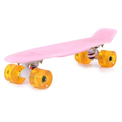 Poissons/ big wheel/Brosse banane rue Conseil de voyage pour adultes/Quatre roues skateboard/ roue lumineuse/ roue de Flash d'enfant/Alice skateboards