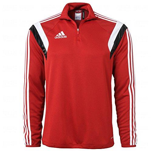 Adidas Mens Climacool Condivo 14 Training Top Medium Red/White/Black