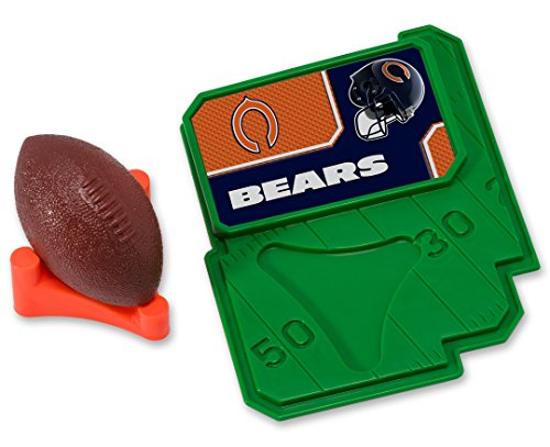 Chicago Bears Nfl Candy (CAKEMAKE NFL Football & Tee, Cake Topper, Chicago Bears)
