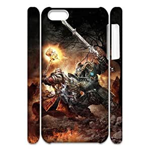 Cell phone 3D Bumper Plastic Case Of Soldier For iPhone 5C by supermalls