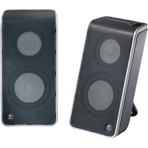 Logitech V20 Notebook Speakers (Black)