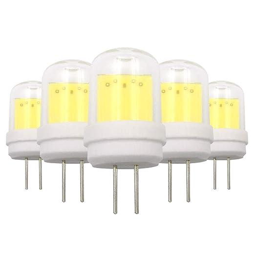 Bombillas LED G4 tipo JC 4 W COB blanco frío 220 – 240 V sustituye a