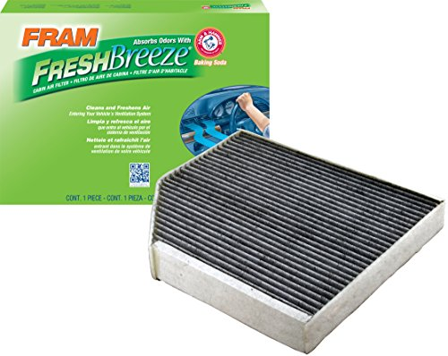 FRAM CF11179 Fresh Breeze Cabin Air Filter with Arm & Hammer