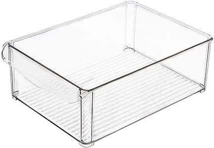 īBaste 2 Unidades plástico Cocina dispensa congelador conservar ...