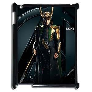 I-Cu-Le Cover Custom Case Thor Loki,customized Hard Plastic case For IPad 2,3,4