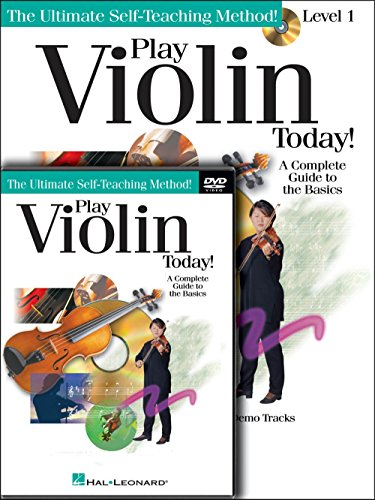 (Hal Leonard Play Violin Today! Beginner's Pack - Includes Book/CD/DVD (Standard))