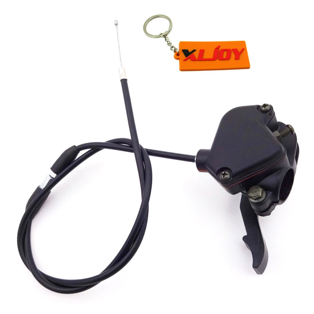 XLJOY Thumb Throttle Control Housing Cable For 50cc 70cc 90cc 110cc 125cc ATV Quad Kazuma Sunl
